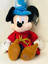 Walt Disney Mickey Mouse Wizard 24 inches Red Velvet Faux Robe