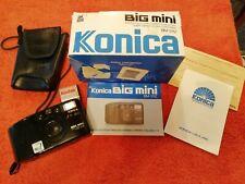 Konica Big Mini BM-311Z Camera good condition black