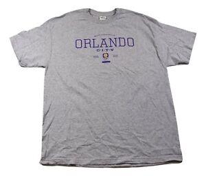 MLS Mens Orlando City SC Soccer Club Tee Shirt New XL