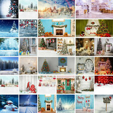 Fashion Christmas Photography Background Backdrop Photo Xmas Forest Snow Props