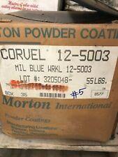 #5 Mil Blue WRKL Corvel Powder Coating Paint - New 1LB