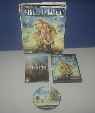 Sony PlayStation Square Enix Final Fantsy XII Game & Official Strategy Guide