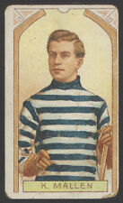 1911-12 C55 IMPERIAL TOBACCO HOCKEY #7 KEN MALLEN STANLEY CUP CHAMP ROOKIE CARD