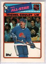 MICHAEL GOULET 1988-89 Topps All Star Insert #7