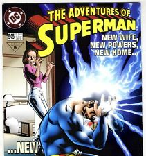 DC THE ADVENTURES OF SUPERMAN #545 New Powers from Apr. 1997 in VF+ condition