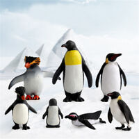 Action Figure Penguin Ocean Animal Model Kids Educational Simulation Models—AY