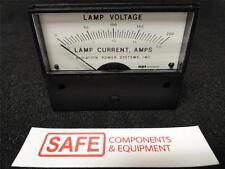 API Instrument Panel Mounted Meter 0-200 Lamp Current, Amps AH-0093-0050   D34