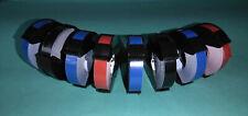 8 Prägebänder Prägeband Embossing Tapes für versch.Prägegeräte