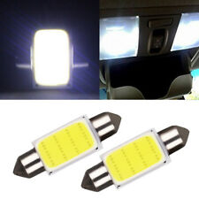 2pcs T10 36 COB LED 12V 39mm White Dome Map Light Bulbs Car Interior Panel Lamp