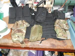 MILITARY ITEMS BLACKHAWK CLEARENCE LOT ALL SORTS OF BITS,VEST,POUCHES,FITTINGS