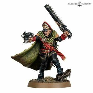 Warhammer 40K - Astra  Militarum - Gaunts Ghosts - Commissar Ibram Gaunt
