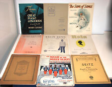 Lot of 17 Vintage Sheet Music-Piano/Violin/Beethoven/Musicals/Symphony/Nola/Moya