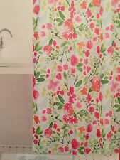 "Celebrate Spring Together Watercolor Floral 70"" X 70"" Fabric Shower Curtain"