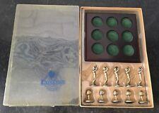 Executive Classics Metal and Wood Golf Tic-Tac-Toe Game Russ Berrie Company