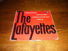 THE LAFAYETTES EP FRANCE NOBODY BUT YOU