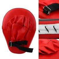 1PC Curved Boxing Focus Pad Set Hook and Jab Punch Sparring Training Bag G4J7