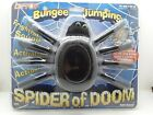 Vintage 1995 Halloween SPIDER OF DOOM Bungee Jumping Spider Toy Scary Decoration
