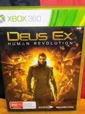 Deus Ex: Human Revolution - Microsoft Xbox 360 - Includes Manual