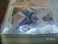 FREDERIK ANDERSEN SP GAME USED 2016-17 PARALLEL AGE   # 78 AND # 166/227