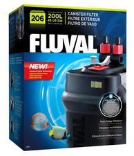 Fluval 206 Canister Filter 200L Aquarium Fish Tank Flow Rate 780l/h Fast Deliver