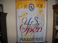 Pinehurst 1999 US Open Championship Event Banner USGA Golf Souvenir New Unused