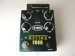 T-Rex Engineering Crunchy Frog Overdrive Effects Pedal PLEASE READ