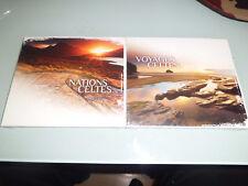 VOYAGES CELTES + NATIONS CELTES - 2 CD Bretagne Celtique digipack NEUF Rare