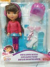 Fisher-Price Nickelodeon Dora and Friends Winter Theme Dora ** New other **