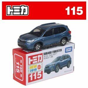 Tomica No 115 - Subaru Forester Blue