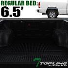 Topline For 1999-2007 Silveradosierra 6.5 Feet Rubber Truck Bed Mat Liners -blk
