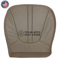 1998 Ford Expedition Eddie Bauer Driver Bottom Synthetic Leather Seat Cover Tan
