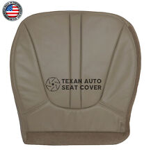 2000 Ford Expedition Eddie Bauer, XLT 4.6L Driver Bottom Vinyl Seat Cover Tan