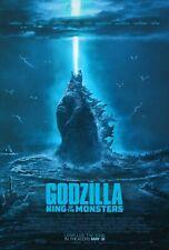Godzilla King Of The Monsters Movie Poster 27x40 D/S Kyle Chandler Vera Farmiga