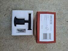 Pfister Brh-Nc1B Matte Black Contempra Double Hook Robe Hook