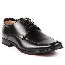 Men's Black Lace-up Oxford Classic Dress Shoes