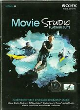 Sony MOVIE STUDIO PLATINUM SUITE Version 12 2012 Windows Vista Video & Audio