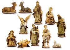 Krippen Markus Krippenfiguren Set gebeizt 11teilig in Größe ca.7cm