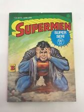 SUPERMAN #99 - Foreign Comic Book - 1980s 80s - DC - ULTRA RARE - 5.0 VG/FN