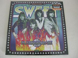"The Sweet - Platinum Rare - RSD 2021, Limited 12"" Metallic Silver Vinyl, 2 LP"