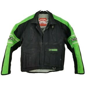 ARCTIVA Snow Snowmobile Riding Mens Jacket Coat Medium Black Green