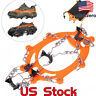 Mat Ice Snow Crampons Hiking Climbing Gripper Anti-slip Shoe Covers Spike Cleats