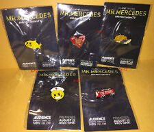 Stephen King tv series MR MERCEDES sdcc promo 5 PIN lot