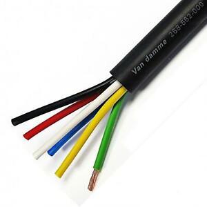 Van Damme Serie Negra Grado Tour Altavoz Cable Touring Multicore 6 Core 2,5mm