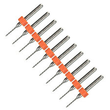 10pcs 1.0mm Micro Carbure Fraise Forets Forage Perceuse PCB CNC Drill Bit Outil