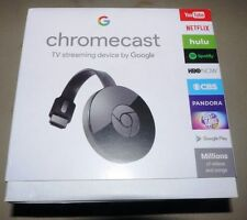 100% New sealed Google Chromecast Digital HD Media Streamer 2nd Gen in pkg   NR