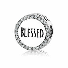 Beautiful Pandora Blessed Charm 100% S925 Sterling Silver Best Mother's Day Gift