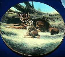 """""""The Red Wolf� by Will Nelson Collector Plate by Bradex"""