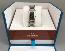 Eterna Sahida Ladies Watch with Diamond Dial Stainless Steel case Swiss Made