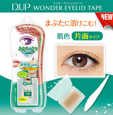 d-up Japan Wonder Double Eyelid Adhesive Tape (144 piece) Skin Color/Partial Use