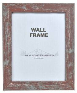 261604 Red Shabby Chic Finish Picture Frame